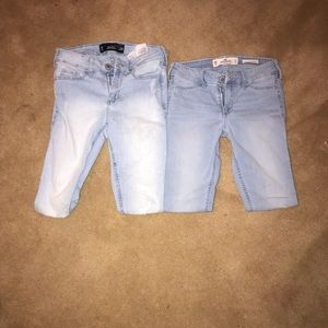 Lot of 2 00 Hollister jeans